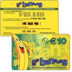 The Phonecard Shop: CPE - Go Bananas, 10€