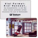 The Phonecard Shop: Kiel Hanseat, chip 10, tight grooves, 12 DM