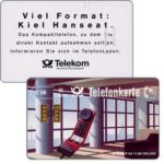 The Phonecard Shop: Germany, Kiel Hanseat, chip 10, large grooves, 12 DM