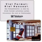 The Phonecard Shop: Kiel Hanseat, chip 20, 12 DM