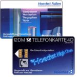 The Phonecard Shop: Hoechst Folien, 12 DM
