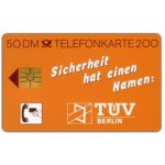 The Phonecard Shop: TUV-Berlin, 50 DM