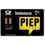 The Phonecard Shop: Germany, Piep Cityruf, 20 Einheiten