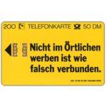 The Phonecard Shop: Germany, Telefonbuch, 50 DM