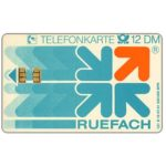 The Phonecard Shop: Ruefach, 12 DM