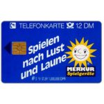 The Phonecard Shop: Merkur Spielgerate, 12 DM