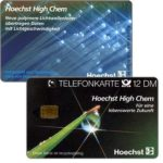 The Phonecard Shop: Germany, Hoechst High Chem, 12 DM