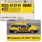 The Phonecard Shop: ADAC, 12 DM