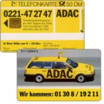 The Phonecard Shop: ADAC, 50 DM