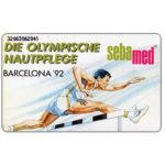 The Phonecard Shop: Sebamed, Olympics Barcelona '92, 12 DM