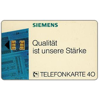 The Phonecard Shop: Siemens Qualitat, 40 units