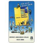 The Phonecard Shop: Germany, Greven's - Gelbe Seiten, 12 DM