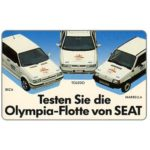 The Phonecard Shop: Germany, SEAT Olympia-flotte, 12 DM