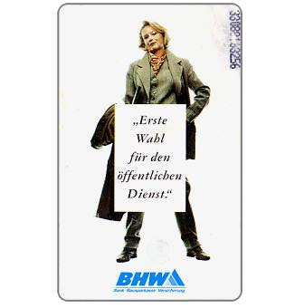 The Phonecard Shop: BHW, woman, 6 DM