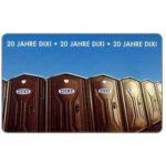 The Phonecard Shop: Germany, 20 Jahre Dixi, 6 DM