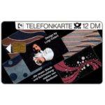 The Phonecard Shop: Germany, Bardush-Colani, 12 DM