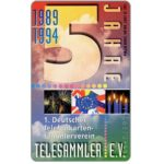 The Phonecard Shop: Germany, Telesammler 5 Jahre, 6 DM
