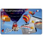 The Phonecard Shop: Germany, Start frei, baloons, 6 DM