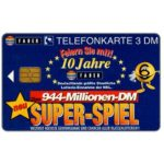 The Phonecard Shop: Germany, Super-Spiel, 3 DM