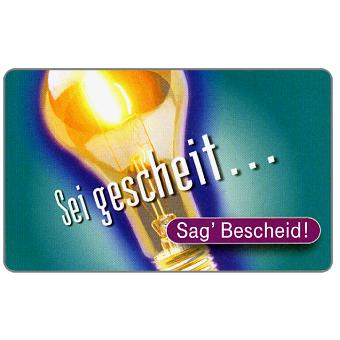 The Phonecard Shop: Sag' Bescheid, 12 DM