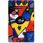 The Phonecard Shop: Germany, Zodiacus by Otmar Alt, Lion, 12 DM