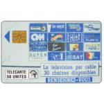 The Phonecard Shop: Teledistribution, 50 units