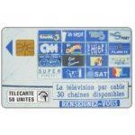 The Phonecard Shop: Monaco, Teledistribution, 50 units