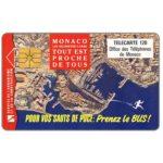 The Phonecard Shop: Monaco, Prenez le bus, 120 units