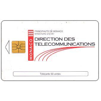 The Phonecard Shop: Monaco, Direction des Telecommunications, 50 units