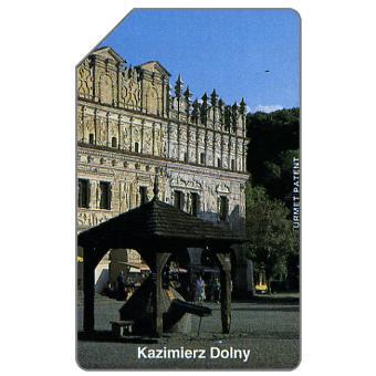 The Phonecard Shop: Poland, Kazimierz Dolny, well, 50 units