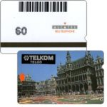 The Phonecard Shop: Poland, Trial card, Belgium, Bruxelles, 60 units
