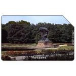 The Phonecard Shop: Poland, Warszawa, Chopin's monument, 50 units