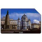 The Phonecard Shop: Poland, Lodz, Wolnosci square, 25 units