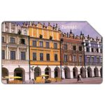 The Phonecard Shop: Poland, Zamosc, market square, 25 units