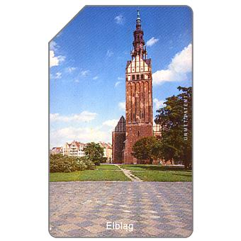 The Phonecard Shop: Poland, Elblag, cathedral, 25 units