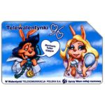 The Phonecard Shop: Poland, St.Valentine's Day 1996, 50 units