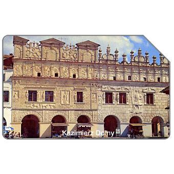 The Phonecard Shop: Poland, Kazimierz Dolny, tenement houses, 25 units