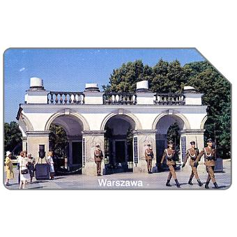 The Phonecard Shop: Poland, Warszawa, soldiers in front of tomb, 25 units