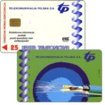 The Phonecard Shop: Poland, Urmet Trial card, 25 units