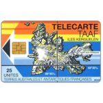 The Phonecard Shop: Iles Kerguelen, 25 units