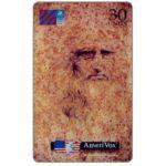 The Phonecard Shop: Italy, ATW - Leonardo Da Vinci, 30 units
