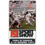 The Phonecard Shop: ATW - Fiera di Genova Sport Show - Football, 3 units