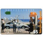 The Phonecard Shop: Leo Funnell, Phonecard Collector Services cardboard visiting card, $5