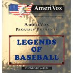 The Phonecard Shop: Amerivox - Legends of Baseball, folder with 4x $10 cards
