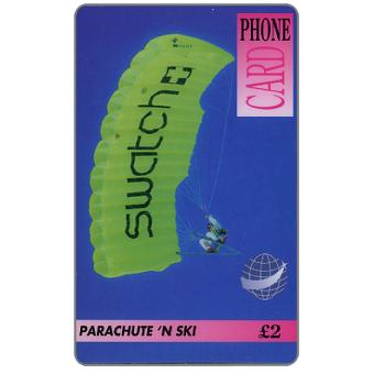 The Phonecard Shop: DIT - Parachute 'n ski, £2