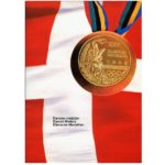 The Phonecard Shop: Danish Olympics Medals, folder with 5x 20 kr phonecards