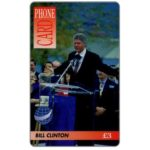 The Phonecard Shop: Great Britain, DIT - Bill Clinton, £3