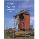 The Phonecard Shop: Tele - First Alands issue, folder with two phonecards