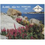 The Phonecard Shop: Tele - Aland Island Games 91, folder with two phonecards