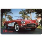 The Phonecard Shop: International, Global One - Corvette (red reverse), 10 units